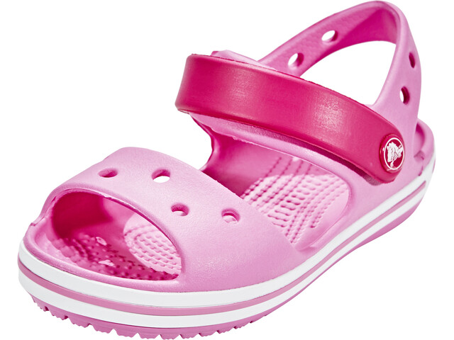 0198552065959 Crocs Crocband Sandals Children pink at Addnature.co.uk